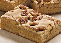 pecan blondie a layer of chopped pecans gives this blondie the perfect ...