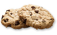 Toffee Chocolate Chip Cookie
