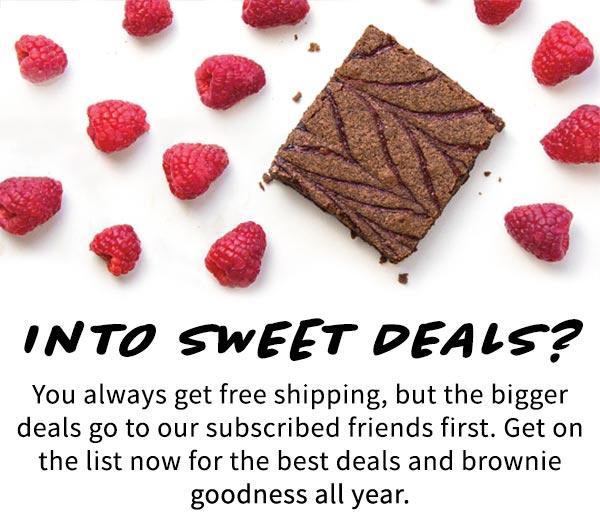 Into Sweet Deals?