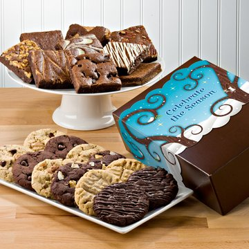 Celebrate the Season Deluxe Cookie & Brownie Combo