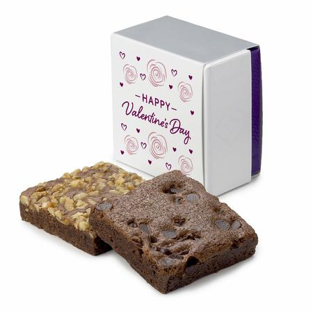 Valentine 2-Brownie Favor