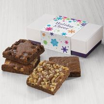 Holiday Cheer 4-Brownie Favor