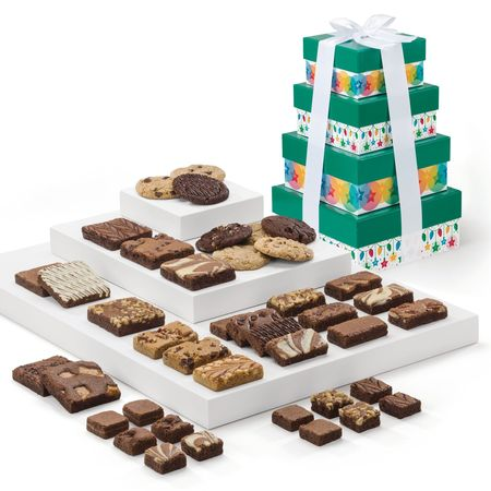 Holiday Cheer 4-Box Tower
