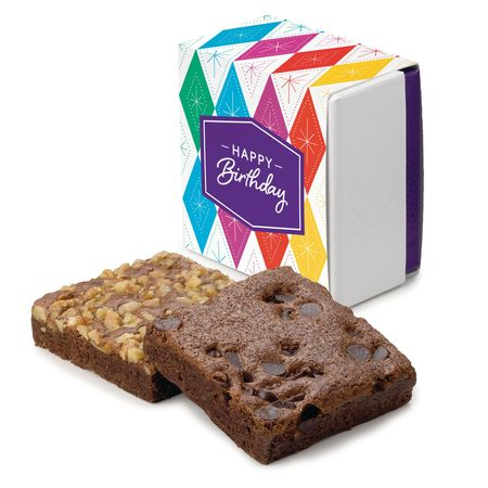 Birthday 2-Brownie Favor