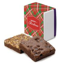 Christmas 2-Brownie Favor