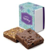 Holiday 2-Brownie Favor