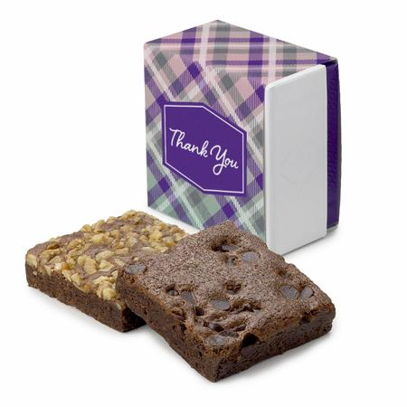 Thank You 2-Brownie Favor