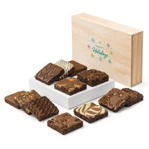 Holiday Wooden Box Dozen