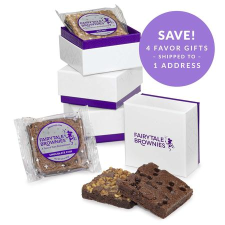 SET OF FOUR 2-Brownie Favor