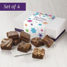 SET OF FOUR Holiday Cheer 8-Morsel Favor