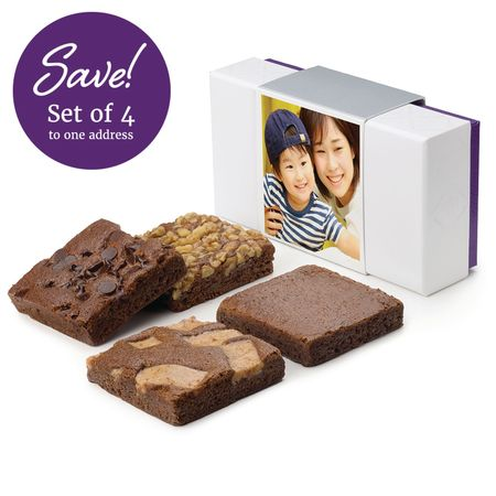 SET OF FOUR Photo 4-Brownie Favor
