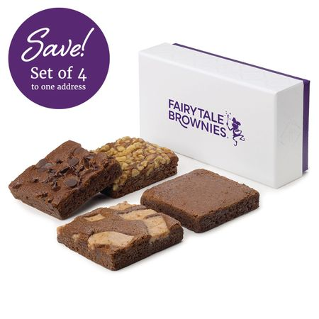 SET OF FOUR 4-Brownie Favor