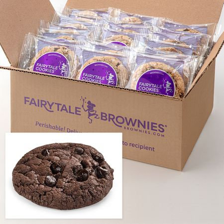 24 Bulk Double Chocolate Cookies
