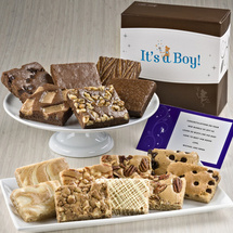 It's a Boy Bar & Brownie Combo
