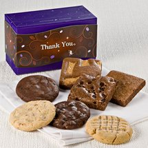 Thank You Treasure Cookie & Brownie Combo