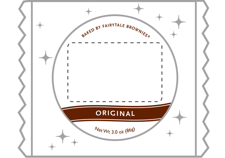 Custom Brownie and Cookie Label