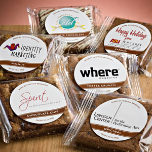 Custom Label Brownies & Cookies