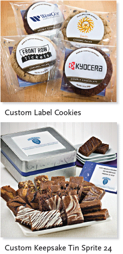 Custom Label Cookies & Custom Tins