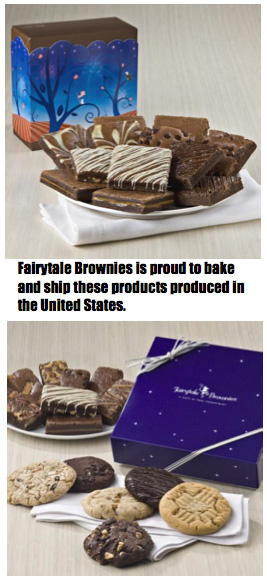 Fairytale Brownies Is Proud To Bake And Ship With U.S. Patriotism